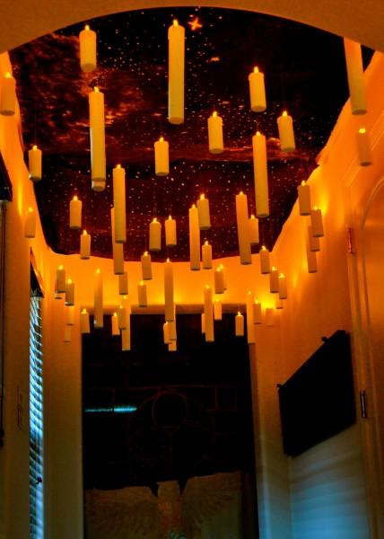 Harry Potter Halloween Floating Candles DIY