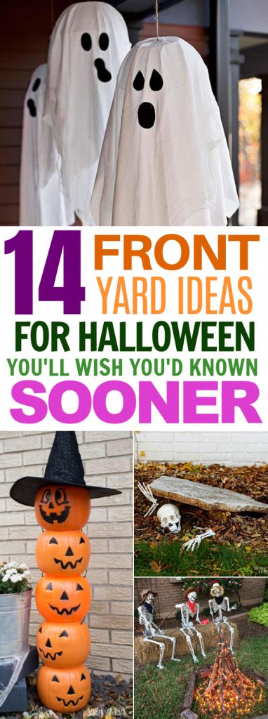 14 Halloween Front Yard DIY Ideas That'll Spook the Neighborhood